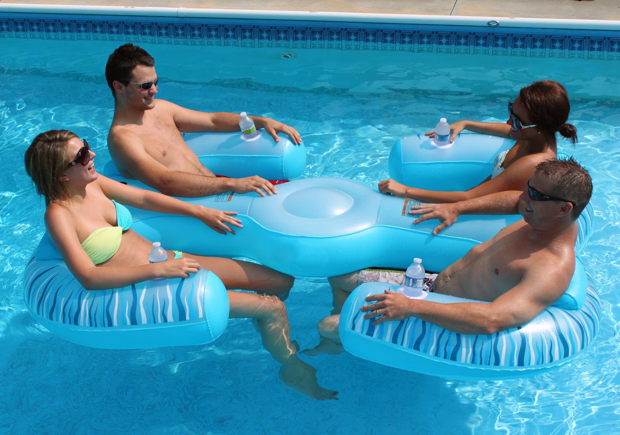 Rave Sports Paradise Lounge Pool Float