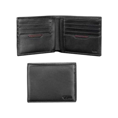 TUMI LEATHER DOUBLE BILLFOLD