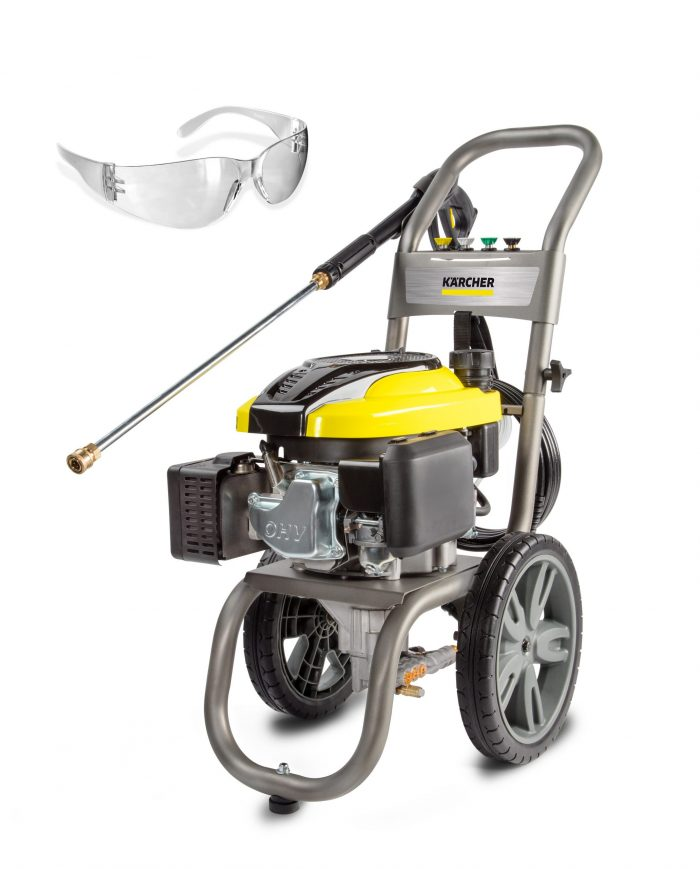 Karcher 2700 PSI - 2.4 GPM - Gas Pressure Washer Includes Safety Glasses