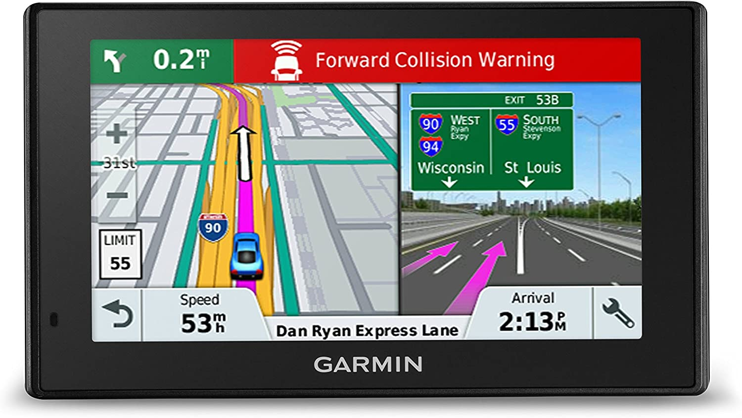 Garmin DriveAssist™ 51 LMT-S GPS with Built-In Dash Cam