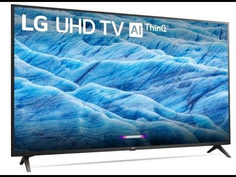 "43"" 4K HDR Smart LED TV with AI ThinQ"
