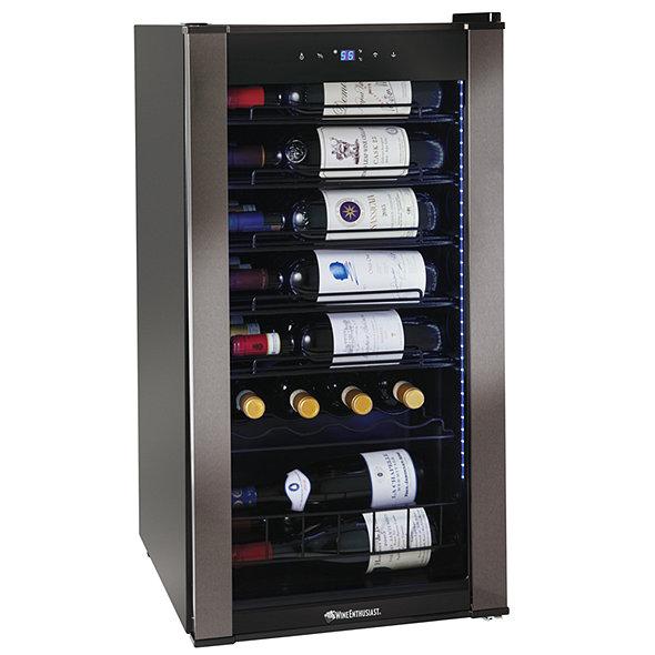 Wine Enthusiast VinoView 28-Bottle Wine Cellar